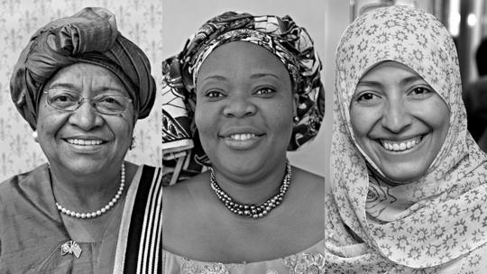 Nobel Peace Prize laureates 2011
