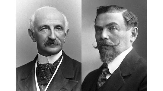 Nobel Peace Prize laureates 1911