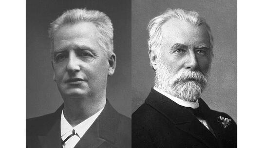 Nobel Peace Prize laureates 1908