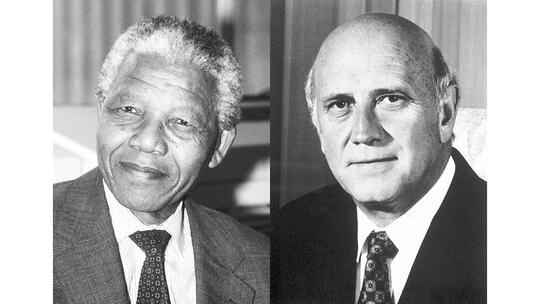 Nobel Peace Prize laureates 1993