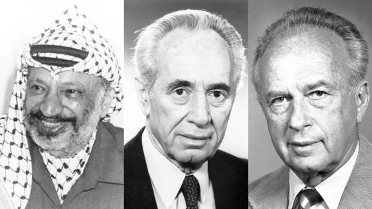 Nobel Peace Prize laureates 1994