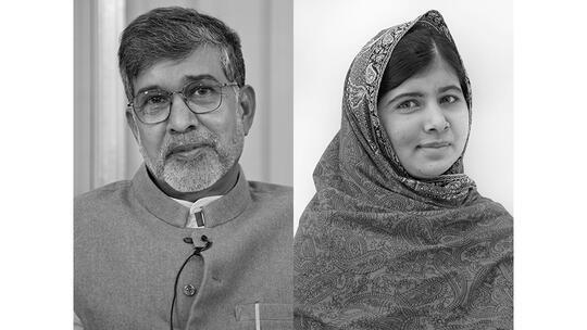 Nobel Peace Prize laureates 2014