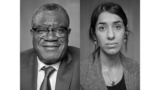 Nobel Peace Prize laureates 2018