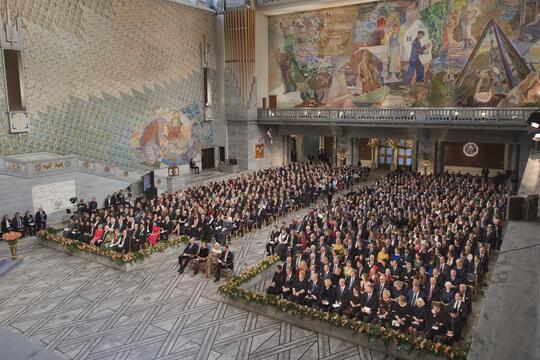 Nobels fredsprisutdeling