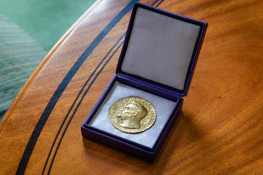 Nobels fredsprismedalje
