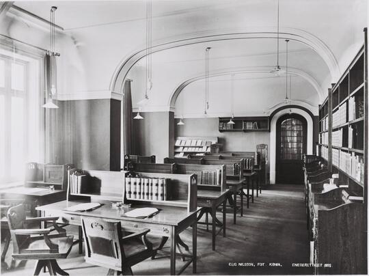 Lesesalen 1905
