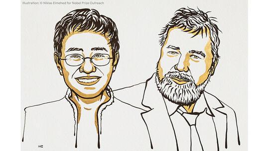 Nobel Peace Prize laureates 2021